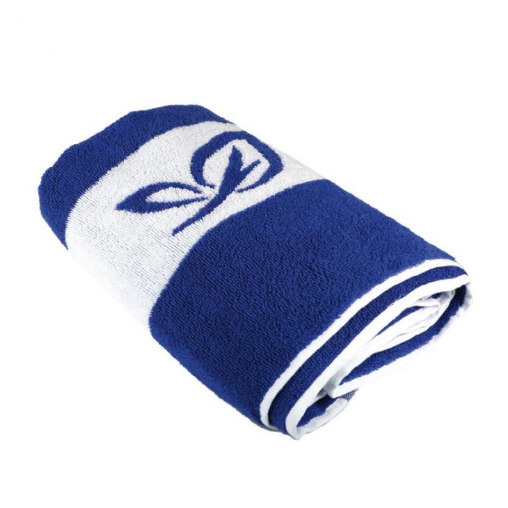 Ręcznik plażowy w paski