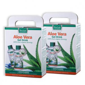 100% organiczny żel do picia Aloe Vera - zestaw 2 szt.