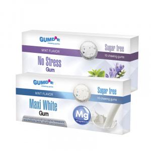 Gumy do żucia Maxi White + No Stress