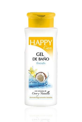 Żel pod prysznic HAPPY - kokos i wanilia