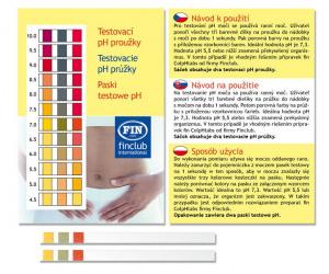 Paski pH (2 sztuki)