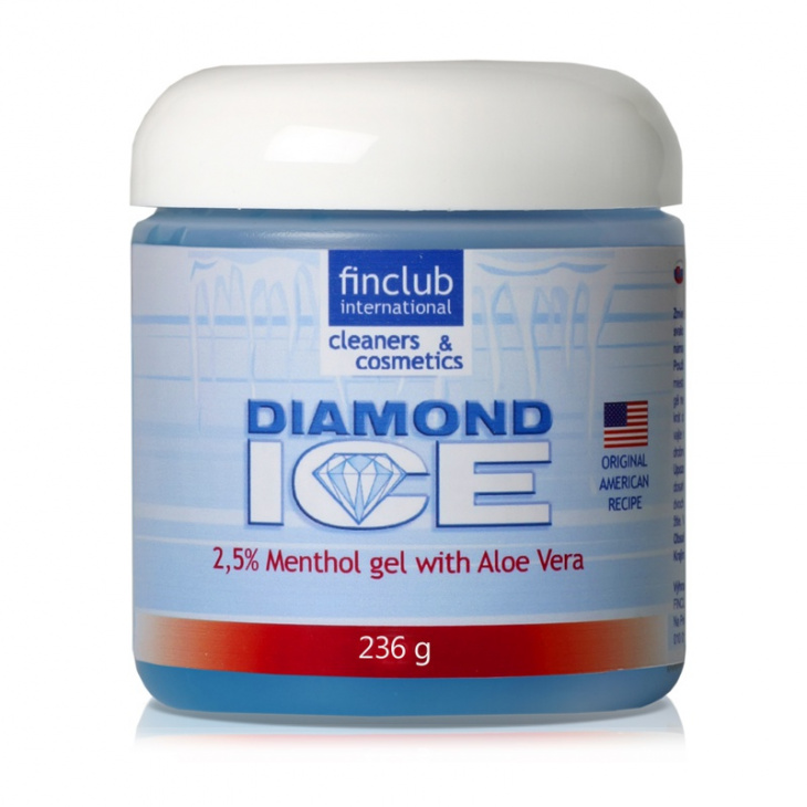 Żel do masażu Diamond Ice 2,5%